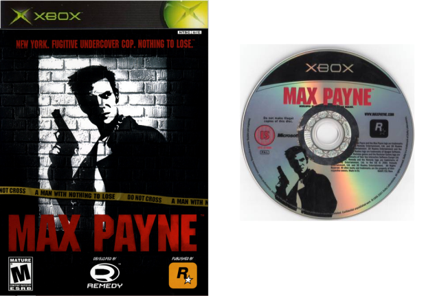 Max Payne PC PS2 XBOX cover